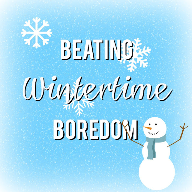 Beating Wintertime Boredom--fun list of things to do as a family in the winter plus a FREE printable