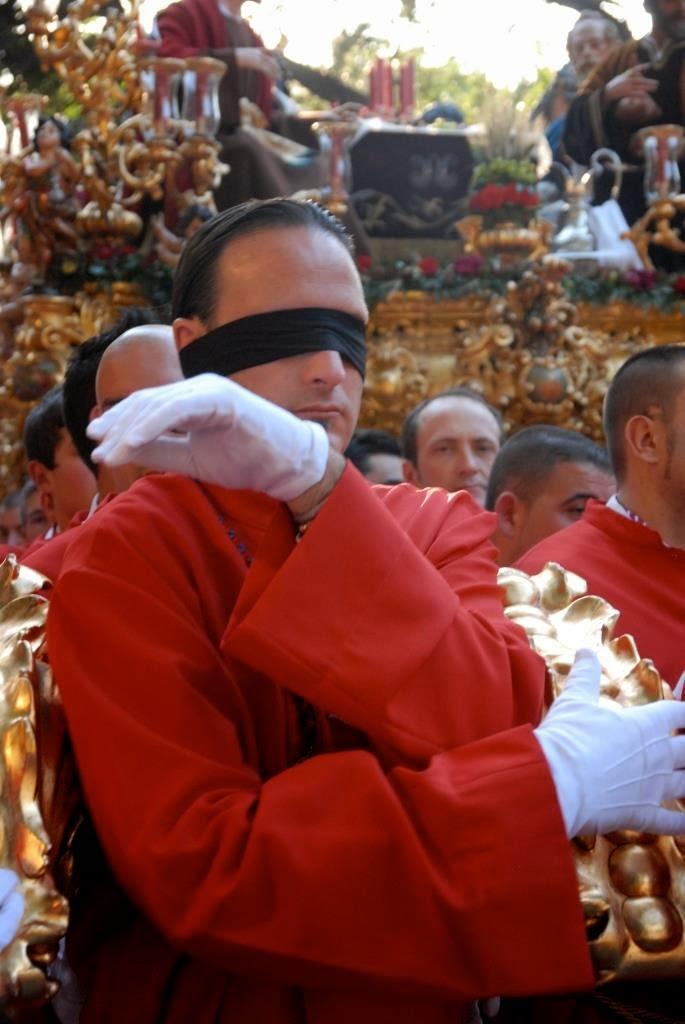 costaleros, Malaga, processies, Maria-en Christustronen, Spanje Semana Santa Malaga, Goede Week processies, gast Antonio Banderas, optochten met heiligenbeelden,april, Malaga's grootste evenement