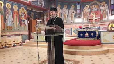 Πραγματοποιήθηκε στην ενορία Αγίας Άννης Κατερίνης η ομιλία του Επισκόπου Αρούσας και Κεντρικής Τανζανίας κ. Αγαθονίκου