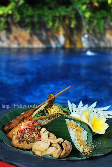 Food at Hotel Tugu
