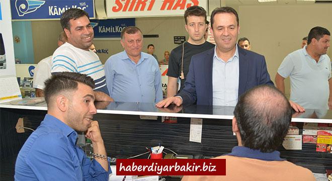 Belediye Sekreteri Muhsin Eryılmaz DİŞTİ'de incelemelerde bulundu
