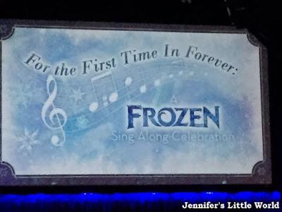 Frozen singalong show, Orlando, Florida