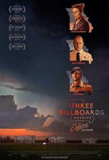 Three Billboards Outside Ebbing Missouri 2017 Dual Audio Hindi Movie Download
