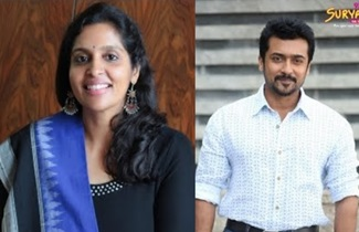 Actor Suriya and Karthi's sister Brindha Sivakumar talks about singing in Mr. Chandramouli