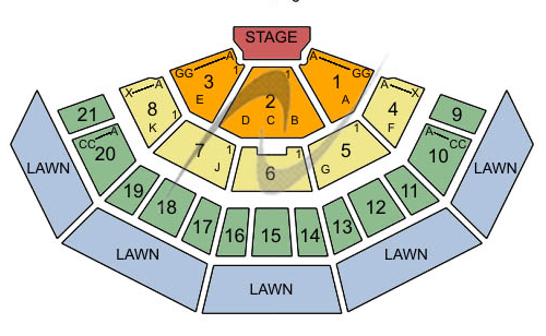 marcus amphitheater seating - Marcus Amphitheater Seating Chart & Interactive Seat Map SeatGeek