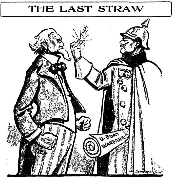 Berge's Cartoon Blog: Unrestricted Submarine Warfare