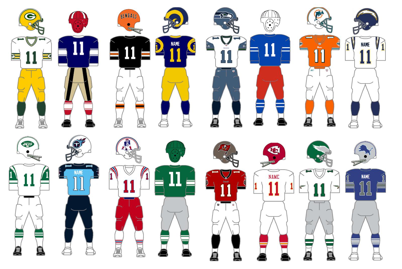 The Gridiron Uniform Database: Best NFL Uniform Tournament