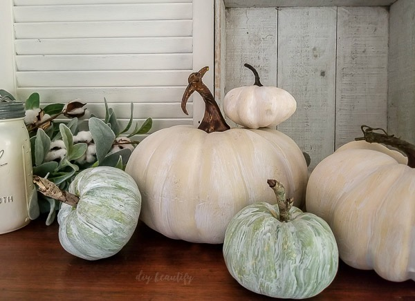 How To Whitewash Pumpkins Diy Beautify Creating Beauty At Home