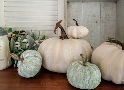 whitewash pumpkins