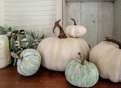 whitewash pumpkins