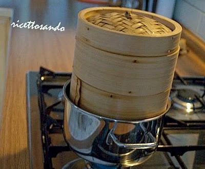 Pane cinese  a vapore o Mantou con lievito madre