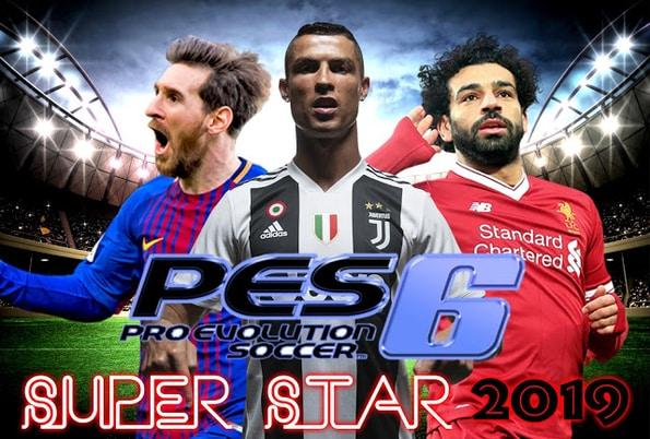 PES 6 Super Star Patch Season 2019