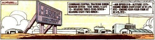 Ferris Aircraft, Awal Pertemuan Hal Jordan dan Carol Ferris