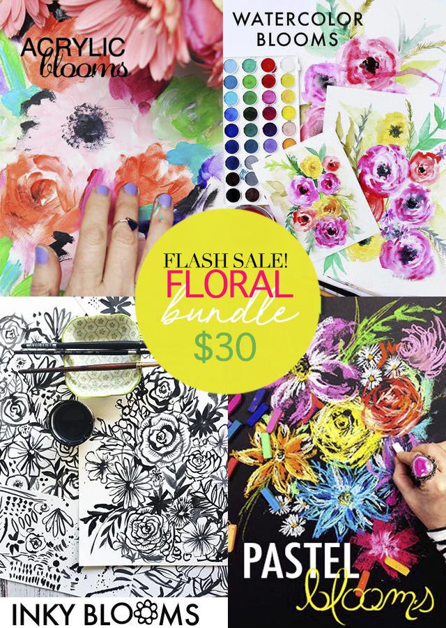 24 hour flash sale! floral bundle!