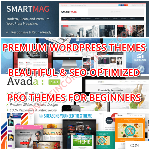 Top 10 Best Premium Wordpress Themes That Are SEO Optimized & Beautifully Designed for Blogging Beginners