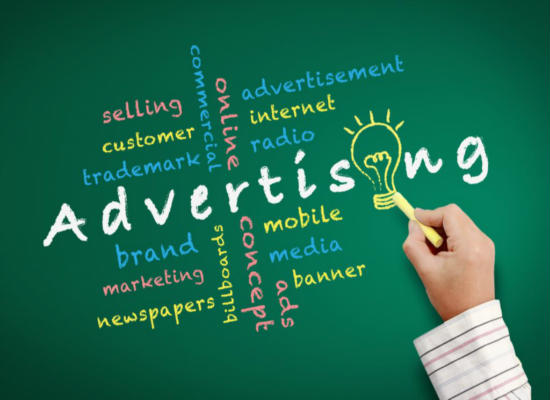 Advertising Tips and Techniques Promote business products services website company firm-550x400
