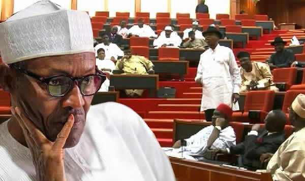 Image result for Senate passes bill requiring Presidential inauguration be done at National Assembly