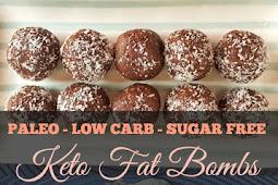 Keto Paleo Vegan Fat Bombs