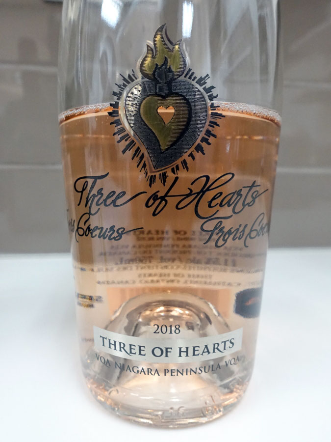 Three of Hearts Rosé 2018 (88 pts)
