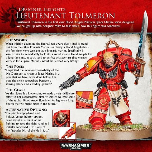 Designer Insights to Lieutenant Tolmeron