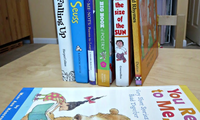 Poetry books for kids who do not like poetry