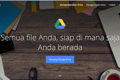 Tentang Google Drive untuk Dunia Pendidikan