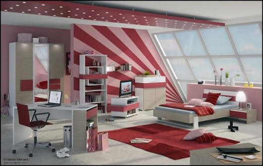 Minimalist Bedroom Design for Girls