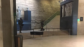 TERROR: Paris' Louvre Shut Down Over Man With Machete