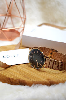 Adexe Watch Meek Grande Rose Gold