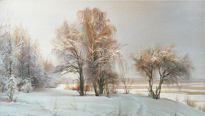 Сказочная русская зима