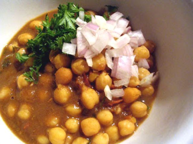 Chickpeas with Mango Powder (Amchoor Chana)