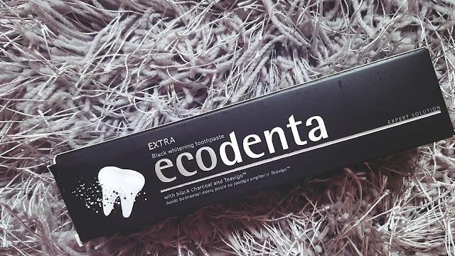 Ecodenta czarna pasta do zębów