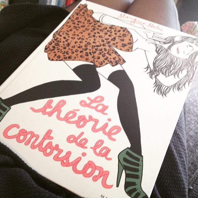Chronique littéraire La théorie de la contorsion par Mally's Books