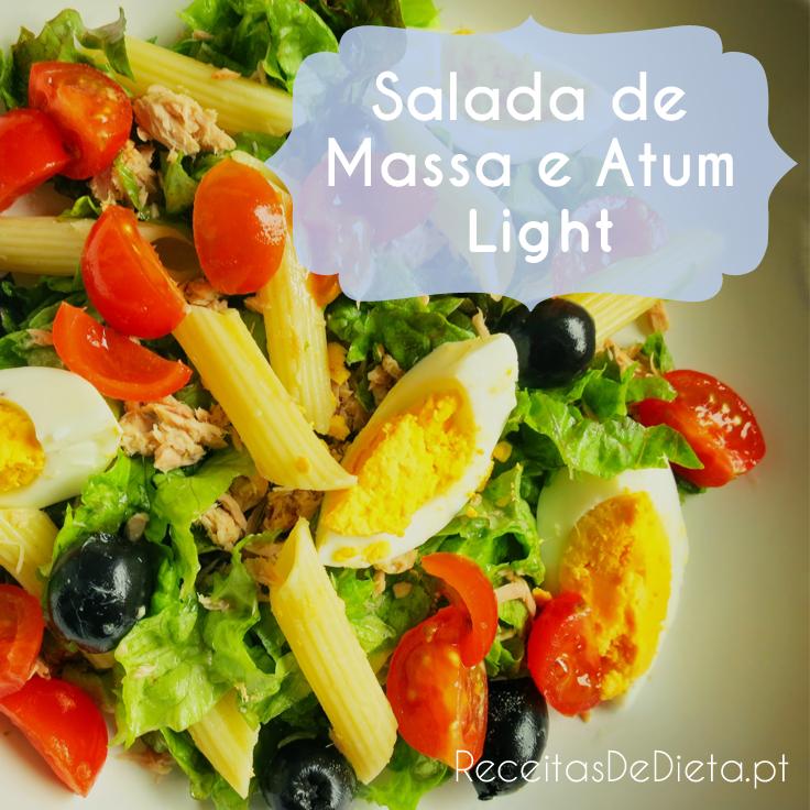 Salada Diet de Massa e Atum