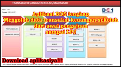 Download Aplikasi excel Penglohahan Data Transaksi BOS
