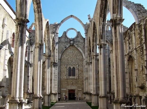 Lisbona, Chiesa del Carmo