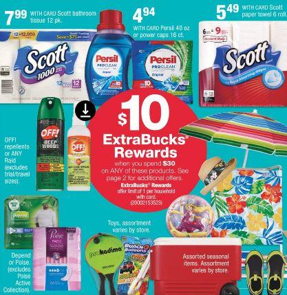 Get $10 Extrabucks Off $30 CVS Deal Ideas 519-525