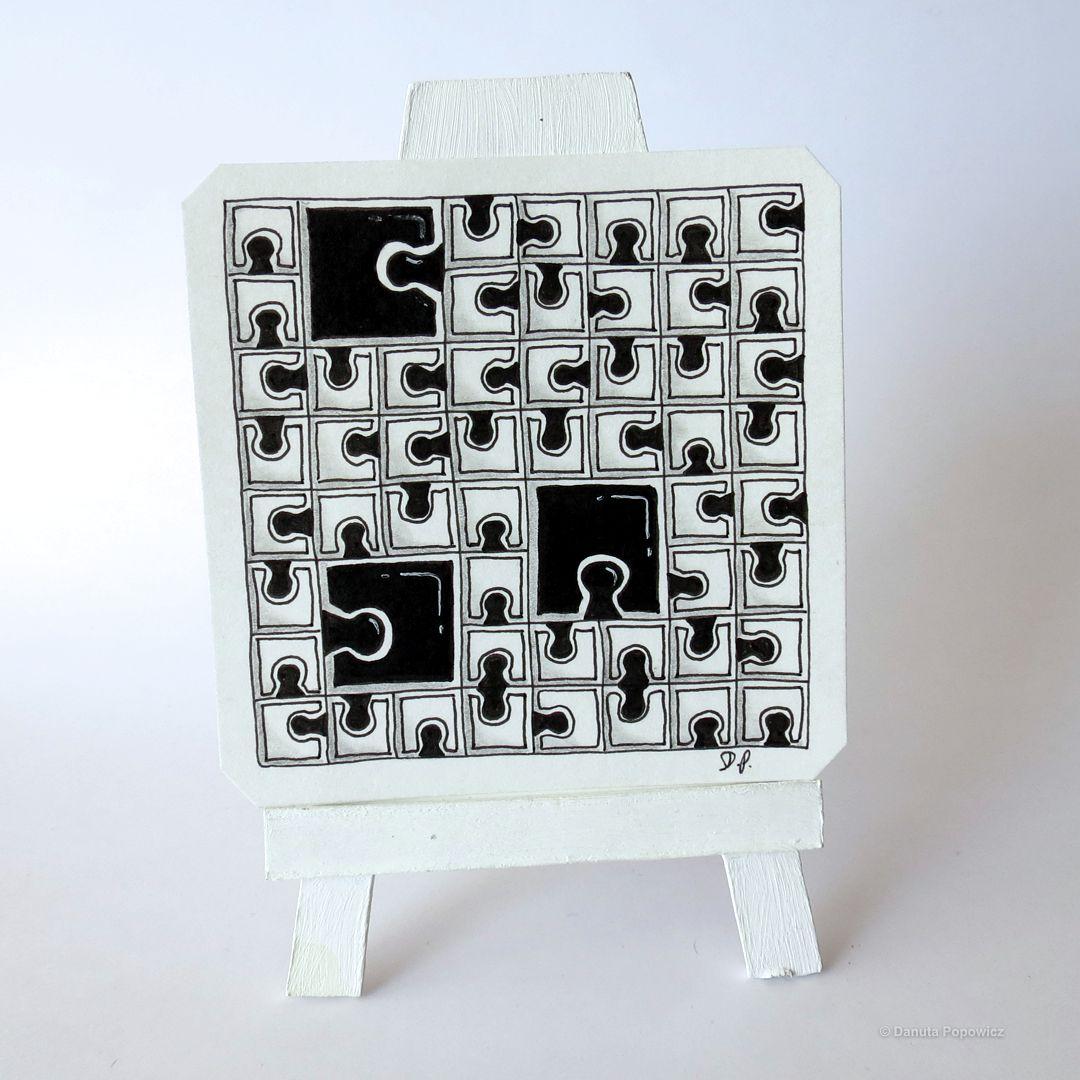 Zentangle puzzle