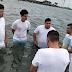 El Meke se bautizó en la iglesia para cantarle por siempre a Dios