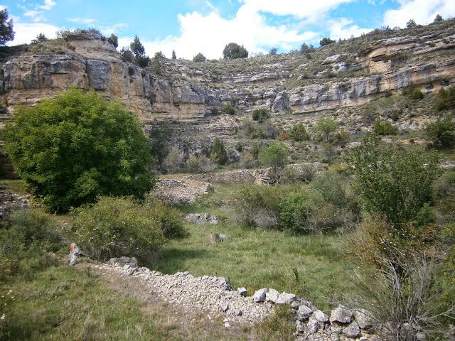 El interior de la dolina del Cañigral
