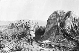 HERMANN-BERNHARD RAMCKE General de Fallschimtruppe