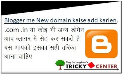 Blog me custom domain kaise add karein ??