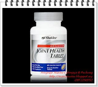 Advanced Joint Health Tablet, shaklee puchong, shaklee cyberjaya, shaklee putra perdana, shaklee amanputra