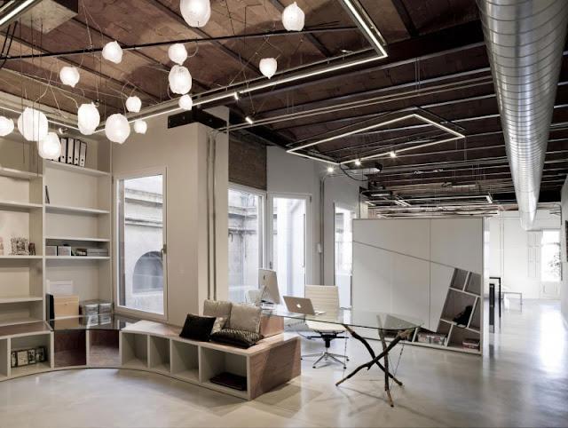 interior rumah industrial