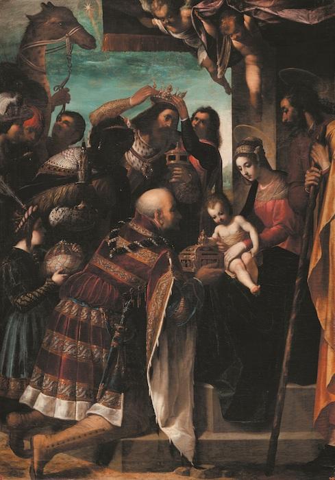 Mostra Jacopo Ligozzi Firenze - Adorazione dei Magi, 1597