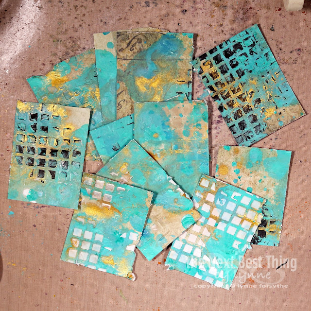 umwowstudio, our mixed media moods, stencils, chipboard, mixed media, tattered angels, the crafter's workshop