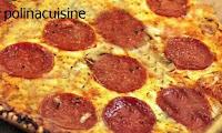 Πίτσα με αραβική πίτα - by https://syntages-faghtwn.blogspot.gr