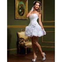 Vestido de noiva curtos