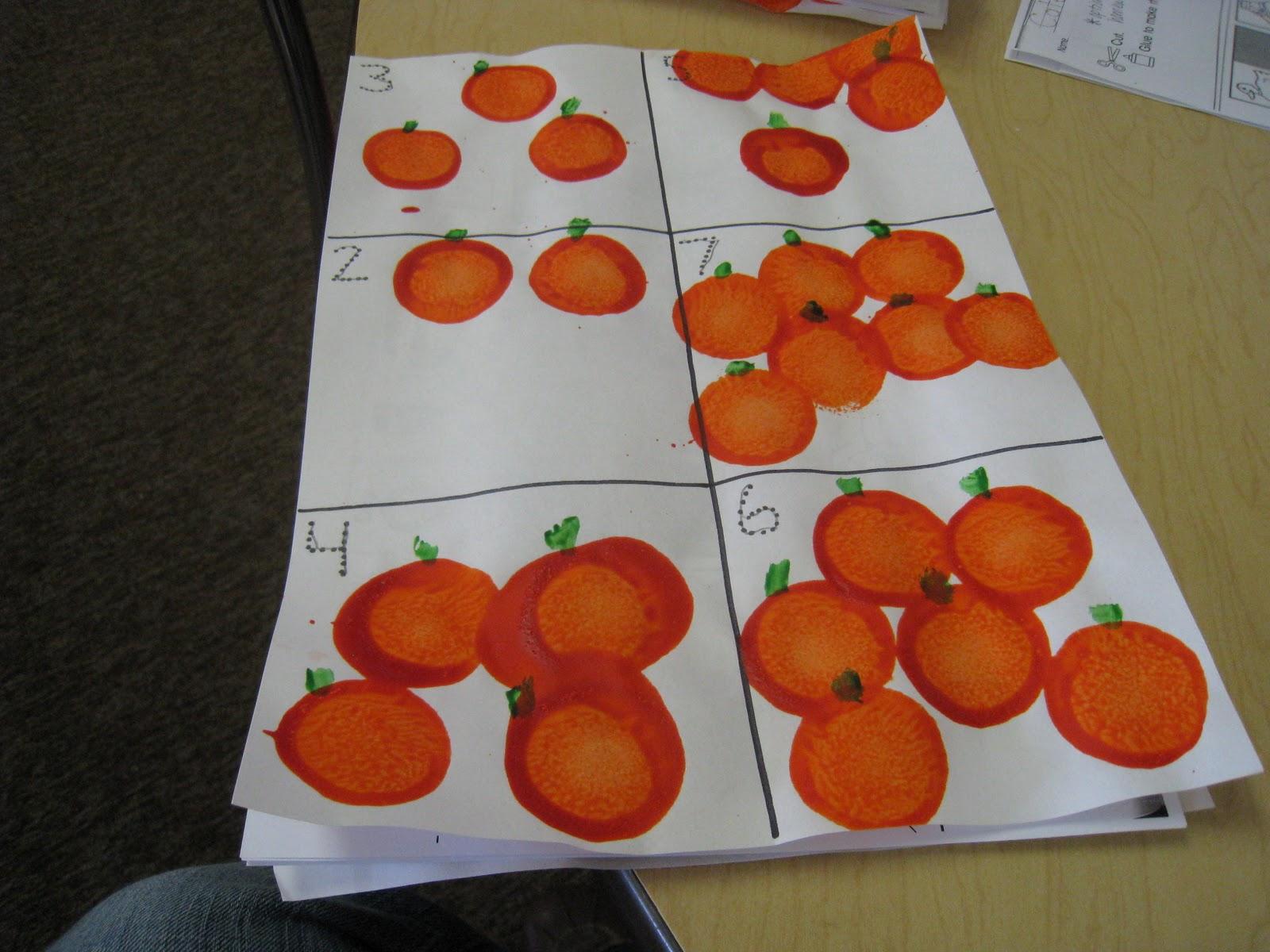 Mrs Russell S Class Fun With Pumpkins
