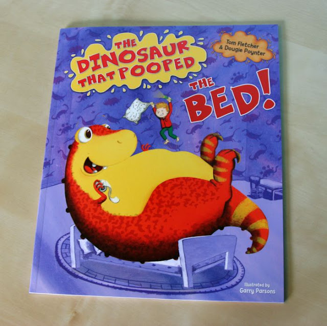 The Dinosaur That Pooped the Bed Review | Morgan's Milieu: The Dinosaur that Pooped the bed front cover